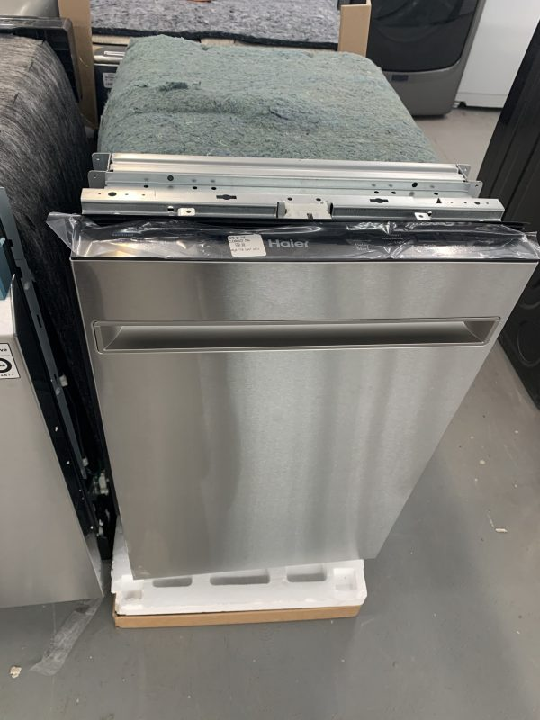 "Haier 18"" 50dB Built-In Dishwasher 1"