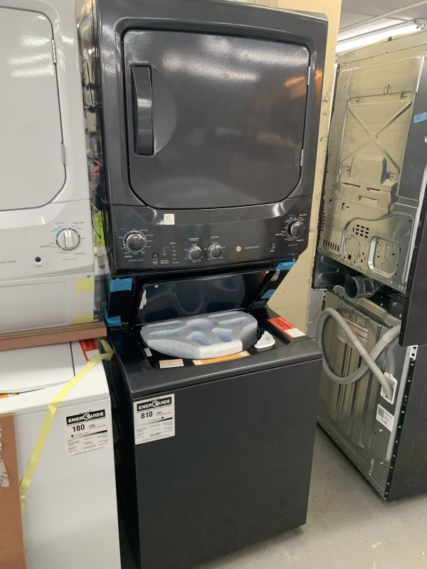 GE Unitized Spacemaker Washer And Electric Dryer 1