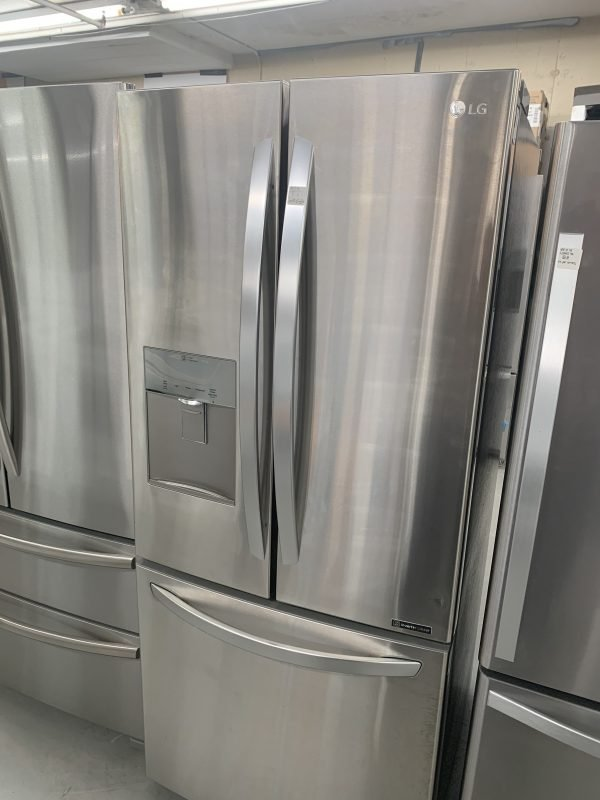 LG 22 Cu. Ft. French-Door Refrigerator with Smart Cooling 1