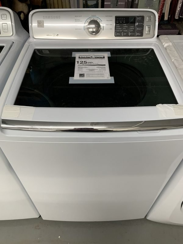 Samsung 5.2 Cu. Ft. High Efficiency Top Load Washer with no agitator 1