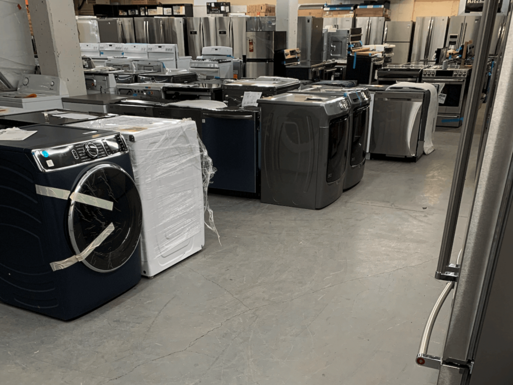 Discount Appliances – Home of the Clearance Man - Homepage Banner 4