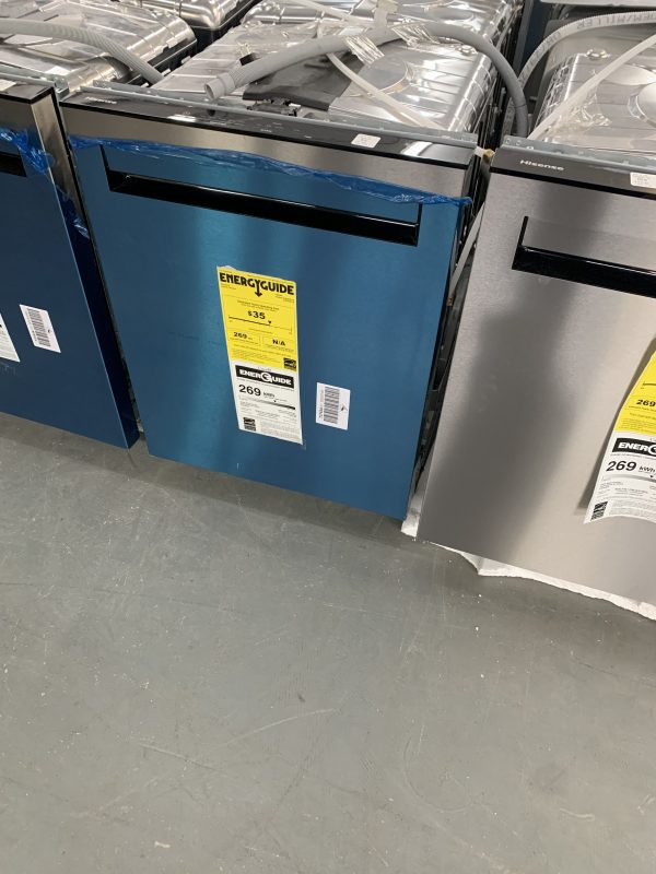 "Hisense 24"" Top Control Dishwasher with Pocket Handle - HUI6220XCUS 1"