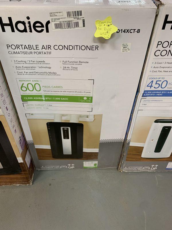 Haier HPNFD14XCT 14,000 13,500 BTU Portable Air Conditioner 1