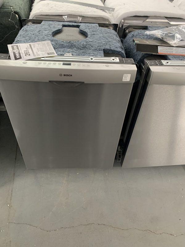 "Bosch 24"" 48dB Built-In Dishwasher with Third Rack (SHSM4AZ55N) - Stainless Steel 1"