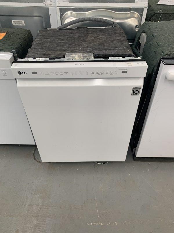 "LG 24"" 48dB Dishwasher with Stainless Steel Tub (LDF5545WW) - White 1"