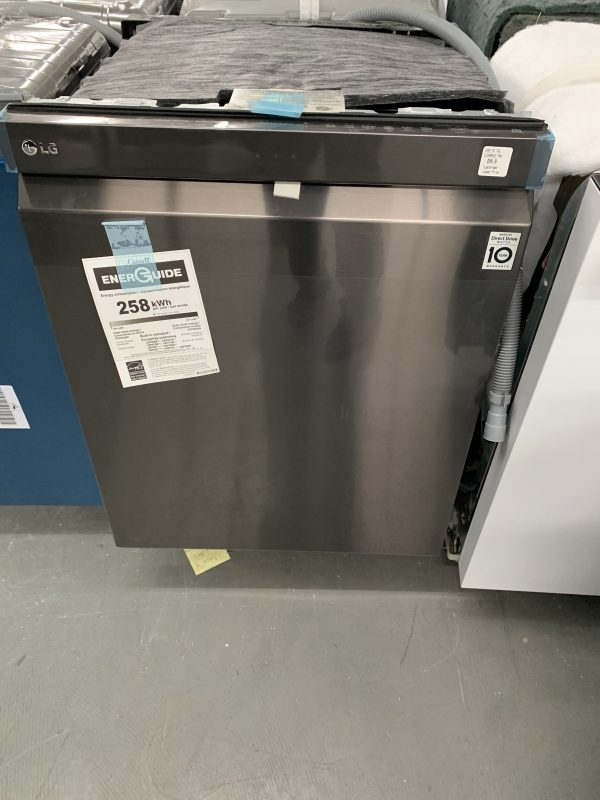 """LG 24"""" 44dB Built-In Dishwasher with Stainless Steel Tub & Third Rack (LDP6797BD) - Black Stainless 1"""