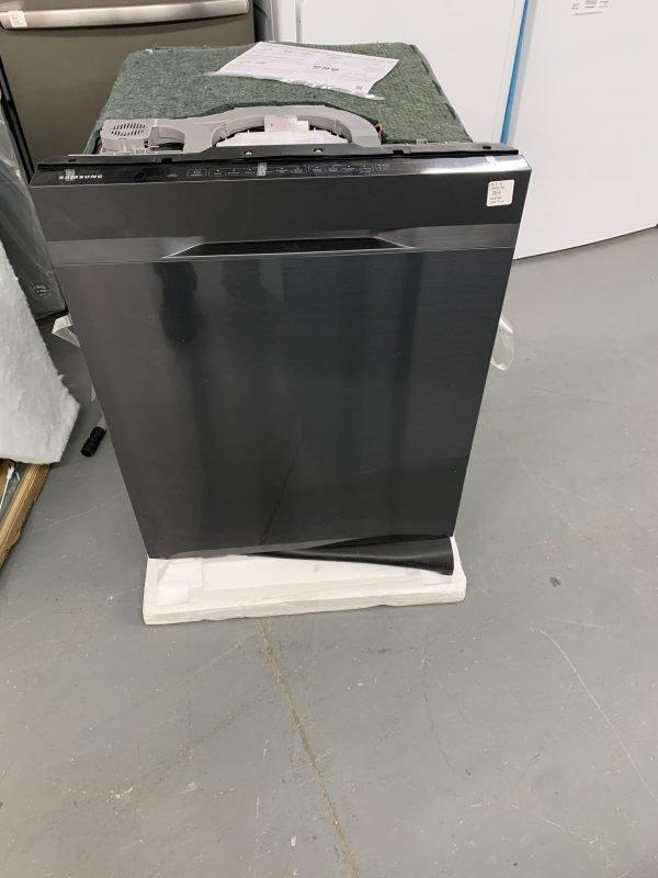 Samsung StormWash 48-Decibel Top Control 24-in Built-In Dishwasher (Black Stainless Steel) ENERGY STAR 1