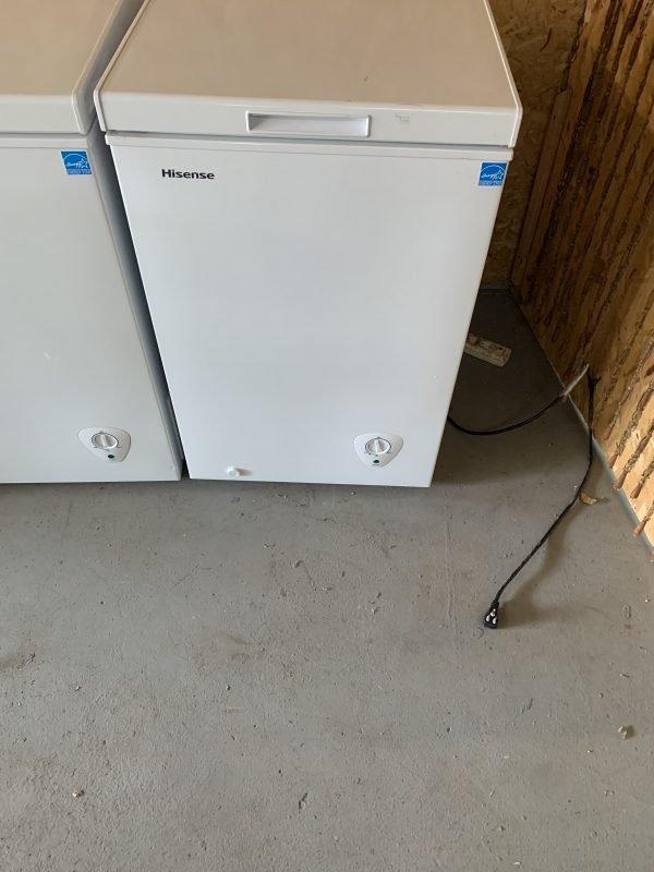 Hisense Chest Freezer 3.4 ft³ - FC34D6AWE 1