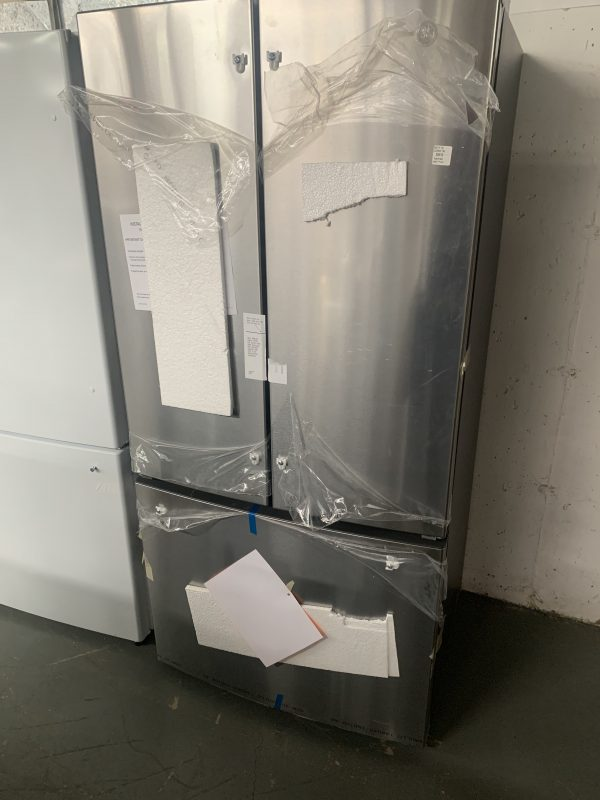 GE® ENERGY STAR® 18.6 Cu. Ft. Counter-Depth French-Door Refrigerator 1