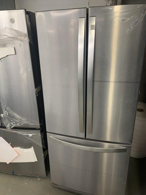 Whirlpool Bottom Freezer and French Doors Refrigerator - WRF560SFHZ 1