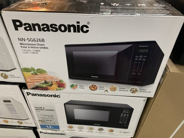 Panasonic Black Countertop Microwave (1.3 Cu. Ft.) - NNSG626B 1