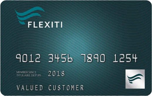 Flexiti Financial - Payment Card - Clearance Man