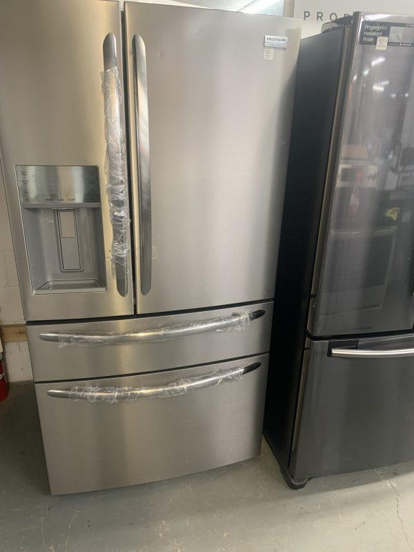 "Frigidaire Gallery 36"" 21.8 Cu.Ft Counter-Depth French Door Refrigerator 1"