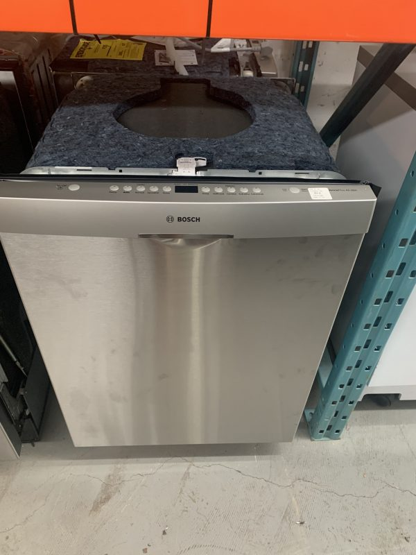 """Bosch 24"""" 46dB Built-In Dishwasher with Stainless Steel Tub 1"""
