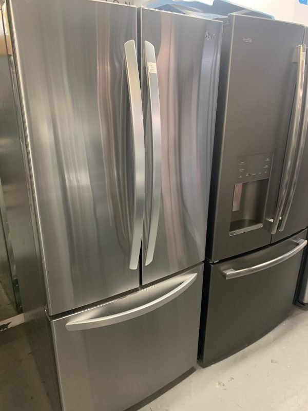 """LG 30"""" 21.8 Cu. Ft. French Door Refrigerator (LRFNS2200S) - Stainless Steel 1"""