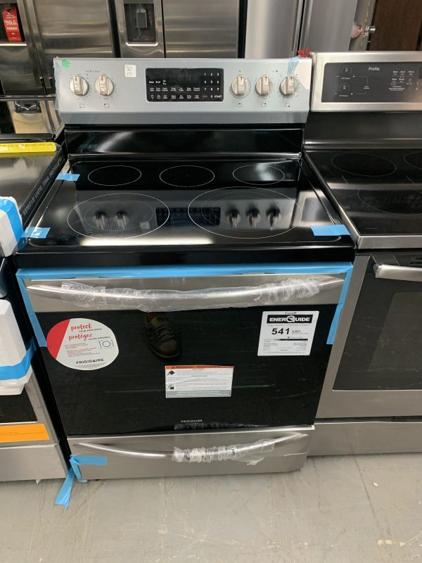 """Frigidaire Gallery 30"""" 5.7 Cu. Ft. True Convection Electric Air Fry Range 1"""