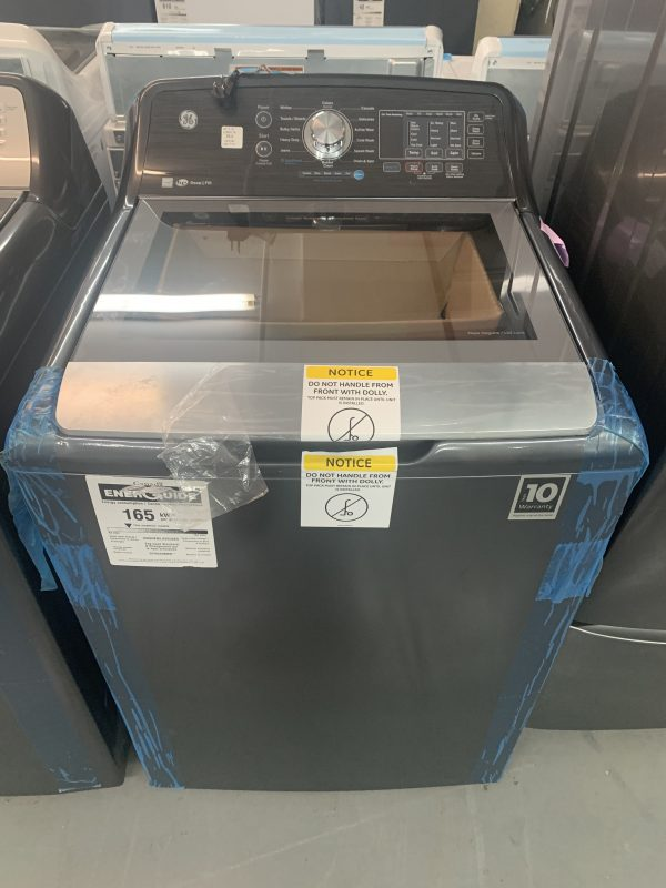 GE 5.3 Cu. Ft. High Efficiency Top Load Washer 1