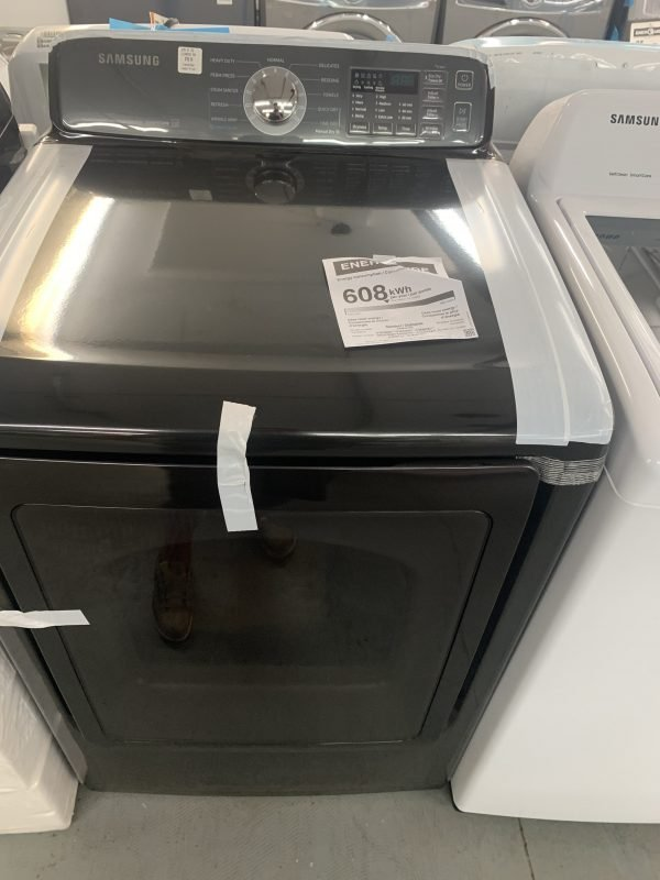 Samsung 7.4 Cu. Ft. Electric Steam Dryer 1