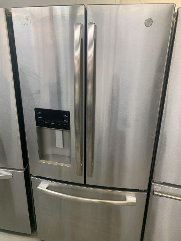 "GE Profile 33"" 17.5 Cu. Ft. Counter-Depth French Door Refrigerator 1"