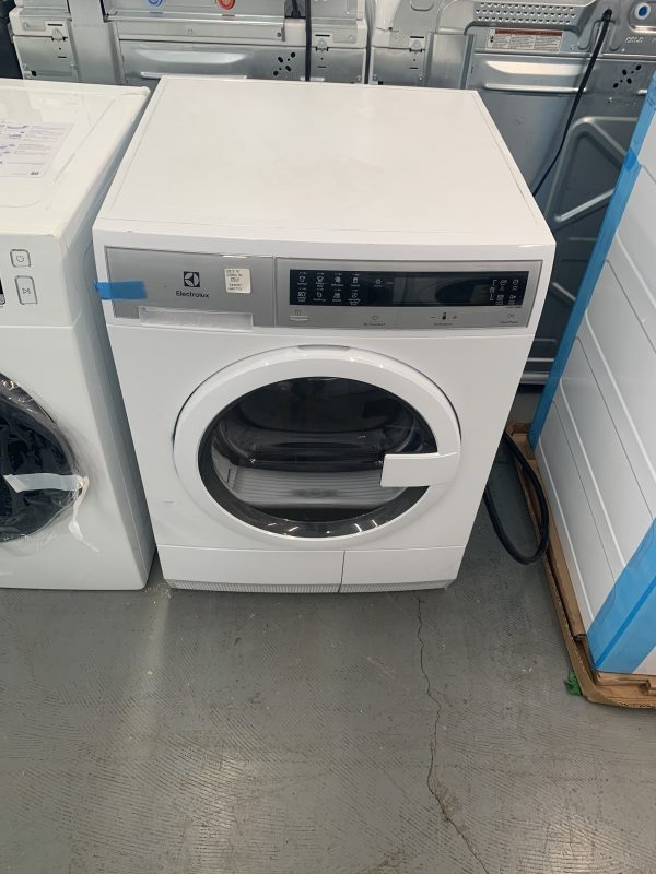 Electrolux 4.0 cu. ft. IQ Touch Ventless Electric Dryer in White 1