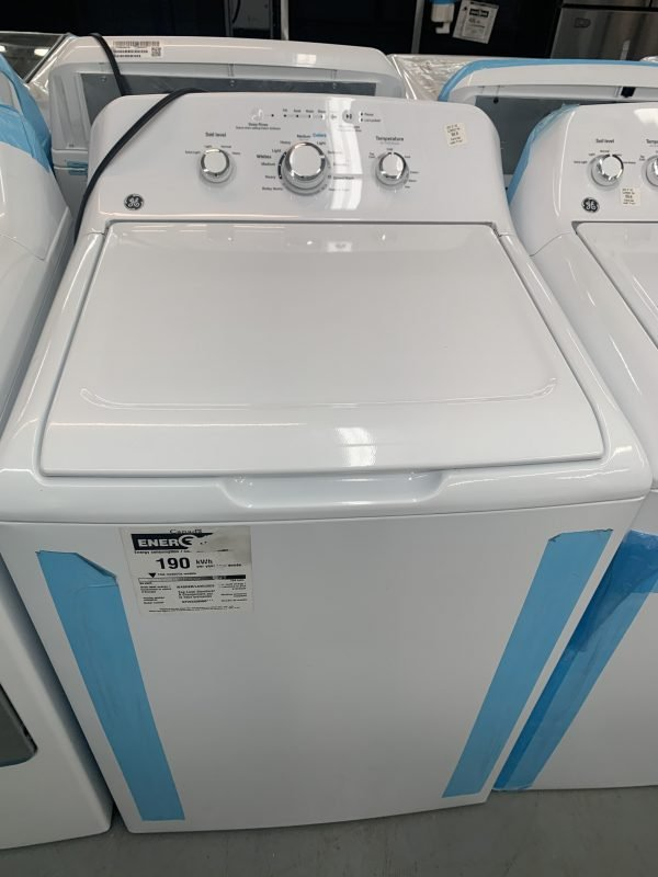 GE 4.4 Cu. Ft. High Efficiency Top Load Washer 1