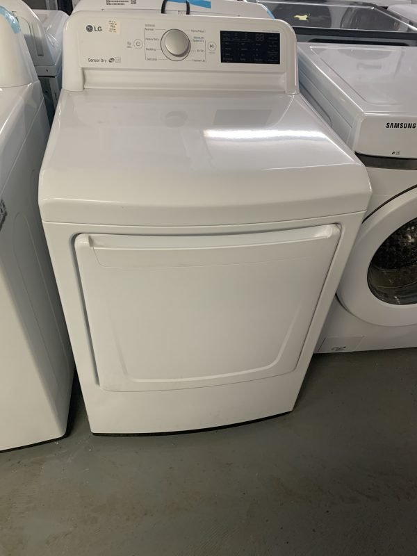 7.3 cu.ft. Ultra Large Capacity Electric Dryer with Energy Saver and Smart Diagnosis 1