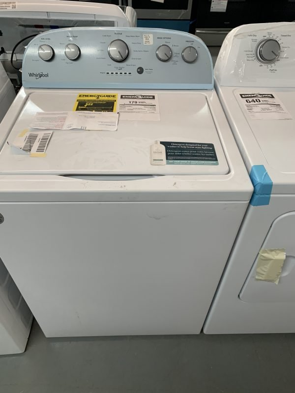 Whirlpool 5 Cu. Ft. High Efficiency Top Load Washer 1